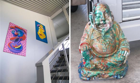 Buddha & art
