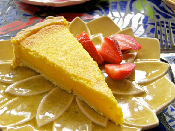 Lemon tart to die for